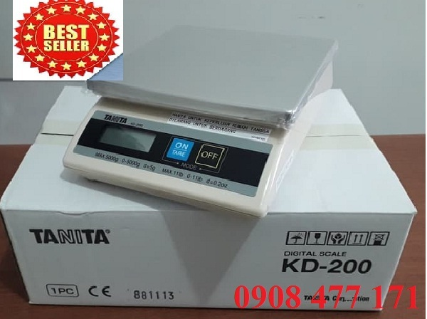 Cân KD 200 (5Kg x 5g) TANITA - JAPAN 2