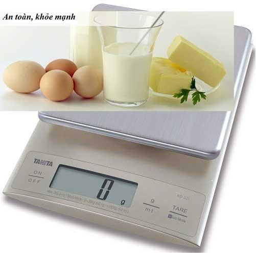 Cân nông sản Tanita KD 321 3kg1g
