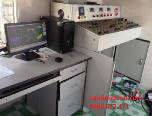 Sửa hệ thống cân bồn điện tử dùng đầu cân Laumas W100/W100 ANA hay đầu cân PT650D 2