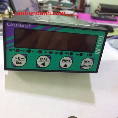 Sửa hệ thống cân bồn điện tử dùng đầu cân Laumas W100/W100 ANA hay đầu cân PT650D 4